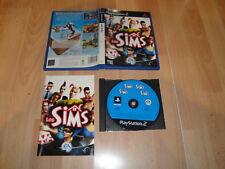 LOS SIMS 1 DE EA GAMES PARA LA SONY PS2 EN CASTELLANO USADO COMPLETO