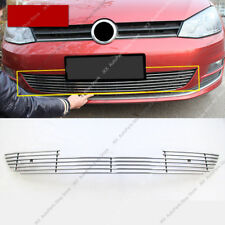 1pc Metal Front Bumper Lower Grille Grill Mesh Vent j Fit For VW Golf 7 2014-16