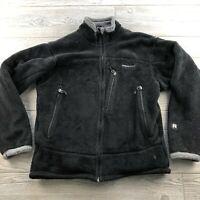 Patagonia Women's Black Fuzzy  Fleece Regulator Jacket Size Unknown Polartec
