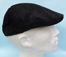 Gorras y sombreros de hombre boinas sin marca color principal negro