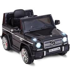 Mercedes Benz G65 AMG Licensed Remote Control Kids Riding Car Black