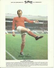 Nobby Stiles - MANCHESTER UNITED - 1968-69 Typhoo Tea Card [Large]