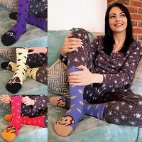 Sock Snob - Ladies Fluffy Non Slip Cute Novelty Animal Design Slipper Socks