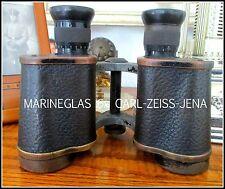 Carl-Zeiss-Jena vetro Marine 6 x 30 n. 483669 wk1 wk2 mare militare Binocolo