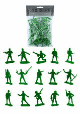 50 Green Toy Soldiers - Pinata Toy Loot/Party Bag Fillers Children/Kid Army Men