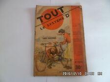SYSTEME D N°59 11/1950 TANDEM TRANSFORMABLE EXTRACTEUR A MIEL BERCEAU   D38