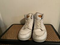 NIKE AIR JORDAN 1 RETRO 86 WHITE-KUMQUAT-PURE PLATINUM SZ 13  644490-115