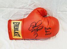 Floyd Mayweather Signed Boxing Glove *PROOF BONUS PRETTY BOY FLOYD INSC Showtime
