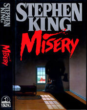 Misery by Stephen King (IT, Dead Zone, Christine, Pet Sematary) HC 1st/1st 1987