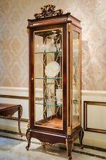 Display Case Glass Wardrobe Living Room Window 1türige E70 Baroque Rococo