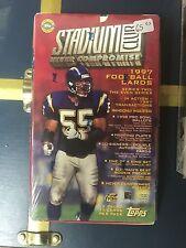 1997 Topps Staduim Football series 2 Jumbo box(more inserts)