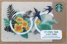 "*NEW* 2017 Starbucks ""Orange County"" Gift Card"