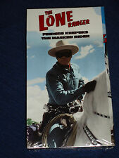 New & Sealed!  THE LONE RANGER VHS Finders Keepers & The Masked Rider