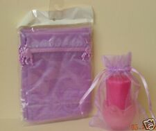 5X7 CHRISTMAS GIFT HOLIDAY ORGANZA POUCH BAG Lilac