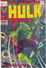The Incredible Hulk #111 (Jan 1969, Marvel) NICE COPY