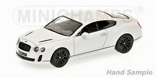 MINICHAMPS BENTLEY CONTINENTAL SUPERSPORTS 2009 WHITE SATIN-CODE 436 139802