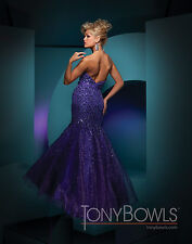 Tony Bowls 111709--Purple--Size 6 --Prom Dress