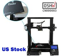 US Stock Creality Ender3 3D Printer Resume Print OSHW Certified DC 24V 15A