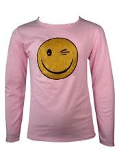 Vêtements rose à col rond pour fille de 9 à 10 ans