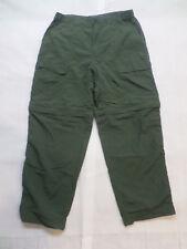 White Sierra Green Nylon Pants to Shorts Size Large