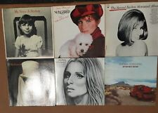 Lot of 6 original Barbara Streisand Classic LPs in Near Mint condition