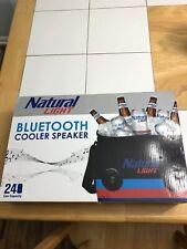 Natural Light Bluetooth Speaker Cooler