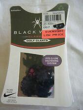 NIB BLACK WIDOW Golf Cleats Q-Lok Fastening System 16 Cleats