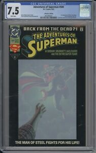 Adventures of Superman 500 6/93 D.C. Comics Collector's Edition CGC 7.5