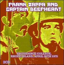 FRANK ZAPPA & CAPTAIN BEEFHEART - PROVIDENCE COLLEGE 26-04-75 2CDs (New/Sealed)