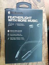 Skullcandy Ink'd + Bluetooth Wireless Featherlight Earbuds w Microphone Black