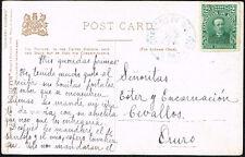 786 Bolivia Circulated Postcard 1906 La Paz - Oruro