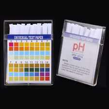100pcs PH Indicator Test Strips 1-14 Test Paper Water Litmus Tester Urine Saliva