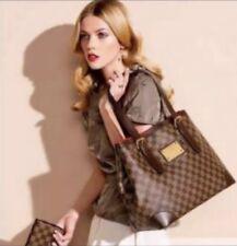 Louis Vuitton Damier Hampstead MM Large Tote Handbag
