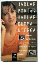 Hablar por hablar de Gemma Nierga