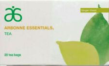 New listing Arbonne Essentials Ginger Green Tea (20 Tea Bags) New Sealed