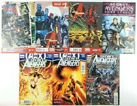 Secret Avengers 1 7 & 13 27 28 30 Marvel Comic Book Lot Multiple Volumes