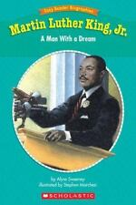 Kids paperback:Martin Luther King,Jr. A Man with a Dream-gr3-4-about his dreams