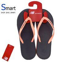 NEW SIZES 6-9 WOMEN New Balance Thong Slippers Sandals Flip Flops Grey Pink NB