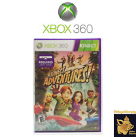Kinect Adventures (2011) Unreal Xbox 360 Video Game With Manual Tested Works C+