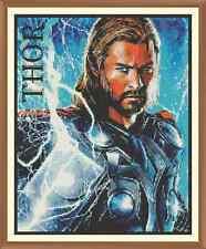 Thor nuevo cuadro de punto de cruz 12.0 X 9.7 in (approx. 24.64 cm)