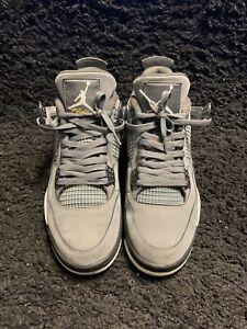 """Air Jordan Retro 4 """"Cool Grey"""" Mens Size 10"""