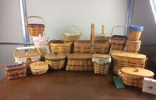 Longaberger Lot of 17 Baskets Cheap Basket Group