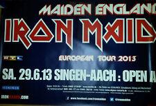 Double-a0 119+119cm Iron Maiden 2013 rare concert affiche concert CALLEJON Poster