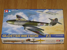 TAMIYA 1/48 Scale Gloster Meteor F.1 Model Kit 61051