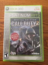 Call of Duty 2 Special Edition bonus DVD included