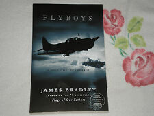 FLYBOYS by JAMES BRADLEY    -ARC- -SIGNED-  JA