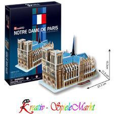 Cubic Fun - 3D Puzzle Notre Dame De Paris Frankreich Mittel