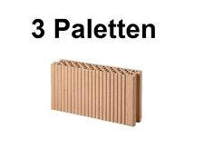 3 Pal. Planziegel POROTON-T ZWP (11,5 cm) 8/0,8 Ziegelstein Planstein Mauerwerk