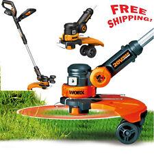 WORX 3-in-1 Electric Cordless Grass Trimmer Edger Mower Garden Lawn Lithium 20V