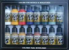 Basic Model Air Colors Set, 17ml by Vallejo, Model Paint 8429551711784